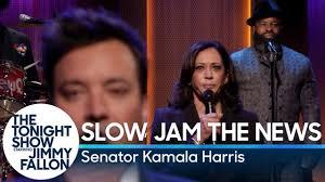 Slow Jam the News with Senator Kamala Harris - YouTube