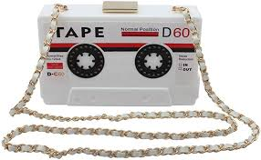 LA CHA Womens Girls <b>Classic Vintage</b> Style Radio <b>Design Top</b> ...