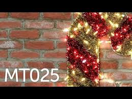 Outdoor Christmas Candy Cane - MT025 - YouTube