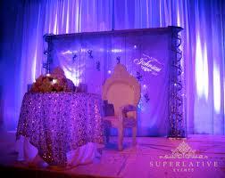 purple uplighting monogram lighting under table lighting beautiful color table uplighting