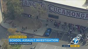 school lockdown com 3 detained after student is stabbed at rancho cucamonga high school