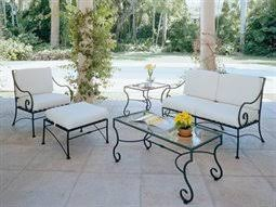 wrought iron lounge sets black wrought iron outdoor furniture