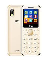 Мобильный <b>телефон BQ</b>-<b>1411</b> Nano Gold