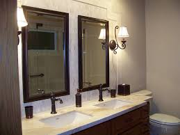 image of bathroom wall sconces mirror bathroom sconce lighting modern