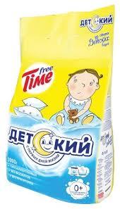 Купить <b>Стиральный порошок Free Time</b> Детский 3 кг пластиковый ...