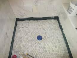 lay tile bathroom floor