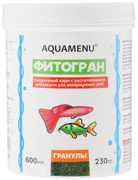 "<b>Корм Aquamenu</b> ""<b>Фитогран"" для</b> аквариумных рыб, с ..."