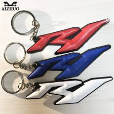 <b>For Yamaha R1 YZF R1</b> Motorcycle Accessories Keychain Keyring ...