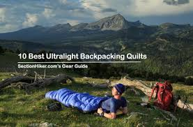 10 Best <b>Ultralight Backpacking</b> Quilts of 2019 - Section Hikers ...