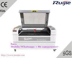 Ruijie 1390 <b>80W CO2 Laser Cutting</b> Machine / Laser Engraving ...