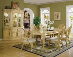 Traditional Dining Room Sets Traditional Formal Dining Room With Long Wooden Table Home