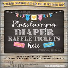 diaper raffle ticket sign cards baby shower raffle raffle to diaper raffle ticket sign cards baby shower raffle raffle to win neutral clothesline instant 5x7 chalkboard style printable