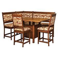 high country breakfast nook amish breakfast nooks amish furniture shipshewana furniture co amish breakfast nook set