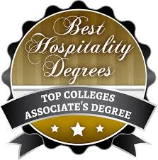 top colleges for an associate s degree in hospitality  click here for high resolution badge