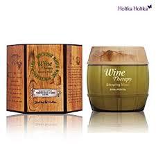 Holika Holika Wine Therapy Sleeping Mask, White ... - Amazon.com