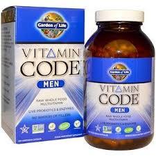 Garden of Life, <b>Vitamin Code</b>, <b>Men</b>, <b>240</b> Vegetarian Capsules ...