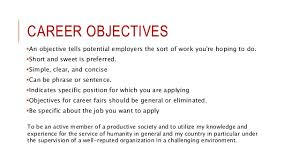 resume write objectives to write on a resume image titled write what to write in career objective for a resume