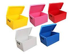 Pack of 5 <b>Multipurpose Durable Plastic</b> Storage Box 16 X 12 X 11 ...