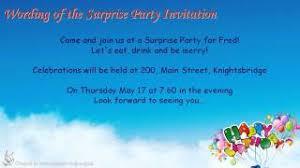 Party Invitation Wording & Etiquette ***