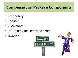 Major Aspects of An International Compensation Package 10. Compensation Package ...