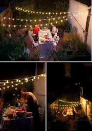 patio outdoor string lights woohome 8 backyard party lighting ideas