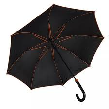 <b>Зонт</b>-трость Back to <b>black</b>, полуавтомат, нейлон, черный с ...