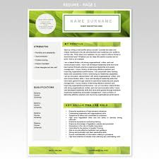 great resume examples for sustainable industry executive resume cover letter resume template eco