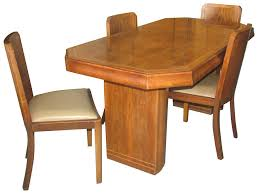 art deco dining table and chairs deco dining table art deco dining set