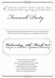 5 gorgeous sample invitation card for farewell party thegfoil com good sample invitation card for birthday inside efficient article