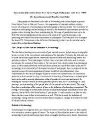 summarization of presentation lecture essay   survey of applied  summarization of presentation lecture essay   survey of applied anthropology   a   essay   iupui