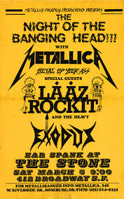 1983-03-05 <b>San</b> Francisco, CA, United States | <b>Metallica</b>.com