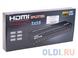 <b>Разветвитель HDMI</b> 4K <b>Splitter Orient</b> HSP0116H, 1-16, <b>HDMI</b> 1.4 ...