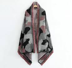 Autumn <b>Winter</b> Camouflage Poncho Women Blanket <b>Scarves</b> high ...