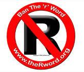 "Ban against the ""R"" Word logo"