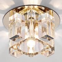 Точечный <b>светильник Ambrella Light D1037</b> CL/CL/G - купить ...