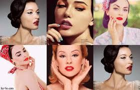 makeup tutorial retro pinup pin up 1950 s