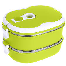 <b>Термо ланч</b>-<b>бокс</b> двойной <b>Bradex</b> Bento, зеленый, 1,5 л — купить ...