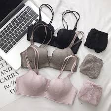 2019 <b>Wasteheart Women Fashion Sexy</b> Lingerie Set Lace Bra ...