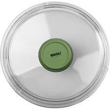 <b>Крышка</b> д/сковороды «Д.Грин»; стекло; <b>D</b>=<b>28см</b>; прозр.,зелен.