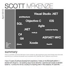 Scott McKenzie resume