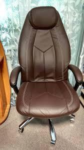 Обзор от покупателя на <b>Кресло Tetchair BOSS</b> люкс хром кож/зам ...