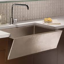 hammered copper kitchen sink: zuma kitchen sink in brushed nickel cpk