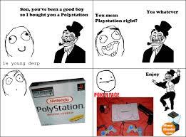 Troll Dad Meme - Polystation / Playstation via Relatably.com
