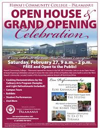 live music food and more at the p lamanui open house grand hawai i community college p257lamanui is pleased to announce that it will host an open house and grand opening celebration on saturday feb