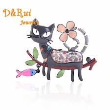 <b>Cute</b> Cat Brooch Pins For Women Thanksgiving Gift Collar Hats ...