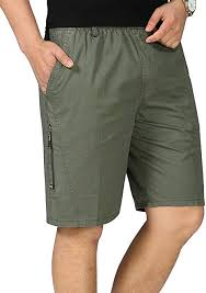 IDEALSANXUN <b>Men's Casual</b> Elastic Waist Cotton <b>Linen Beach</b> ...