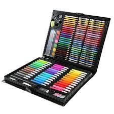 Hot <b>Kids Art Set Children Drawing Set</b> Water Color Pen Crayon <b>Oil</b> ...