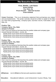 how create resume for a job   Template Template