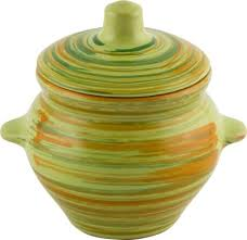 Горшок для жаркого <b>Витаминка</b> 500мл <b>керамика</b> купить с ...