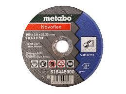 <b>Диск metabo novoflex</b> 150x3 0 a30 отрезной для стали 616448000